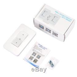 1/3/5 PCS Smart Wall Dimmer Wirless Wifi Light Switch Work With Alexa Google IFTTT