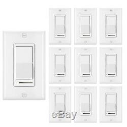 10 Pack BESTTEN Dimmer Light Switch, Single-Pole or. Financing Available