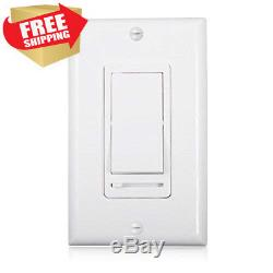 10 Pack BESTTEN Dimmer Light Switch, Universal Lighting Control, Single