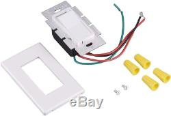 10 Pack Cloudy Bay 3-Way/Single Pole Dimmer Electrical Light Switch for 150W L