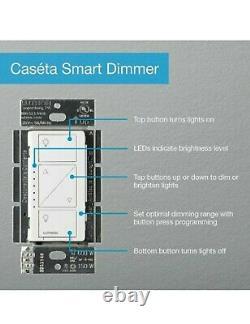 10 QTY Lutron Caseta Wireless Single-Pole/3-Way White Smart LED Decorator Light