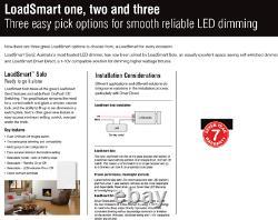 10 X LUMEX LoadSmart Digital LED Downlight Dimmer PUSH ON/OFF Switch 450W 240V