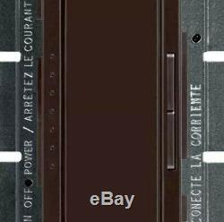 (11) Lutron Maestro C. L Dimmer Switch Light Control Single Pole Brown MA-600-BR