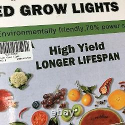 1200W LED Grow Light, Liauekay Full-Spectrum Double Switch Dimmer Plant Lamp