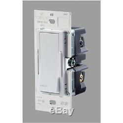 15 Leviton VZM10-1LW 1000 W Vizia Dimmer Switch White Kit + GREAT FOR LED LIGHT