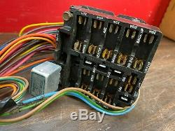 1967 1968 Chevy Camaro Dash Wiring Harness Switches Fuse Box Original Gm 420