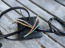 1972-74 CB350F FOUR switch PAIR LH Horn & Turn RH Start, Light, Dimmer & Kill