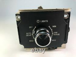 1984 1988 Lincoln Town Car Main Head Light Head Lamp Switch with Dimmer OEM