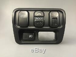 1997-2001 Honda Prelude Fog Light Switch Panel OEM BB6 Sunroof Dimmer Crusie