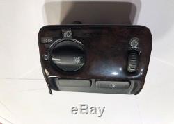 2000 Volvo S80 Woodgrain Headlight Fog Light Dimmer Control Switch Button
