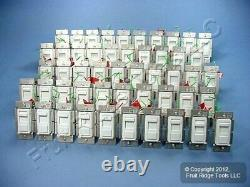 50 Leviton White Unlighted Decora Light Dimmer Switches Low Voltage IPE04-10W