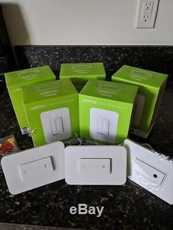 7 Wemo Dimmer WiFi Light Switches + 1 reg Wemo smart switch (Alexa & Google)