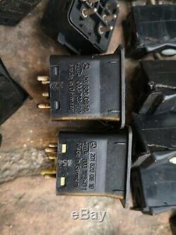 80-95 MERCEDES W201 W124 W126 C126 HAZARD DIMMER LIGHT SWITCH OEM Set