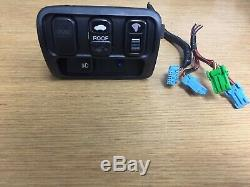 97-01 HONDA PRELUDE CRUISE DIMMER SUNROOF FOG LIGHT SWITCH WithTRIM & PIGTAIL OEM