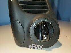 97-04 Porsche Boxster 911 986 996 Left DRIVER Dash Vent w Dimmer Switch OEM
