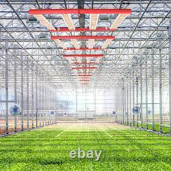 AGLEX 240W LED Grow Light Full Spectrum 4Bars for Indoor Plants Commercial