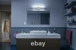 Adore White Ambiance Smart Bathroom Wall Light with Dimmer Switch