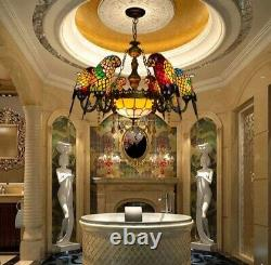 Art Deco Parrot Design Luster Chandelier Lighting Suspension Luminaire Lampen