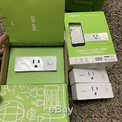 Belkin WeMo WiFi Smart Dimmer Light Switch Plug Bundle Preowned