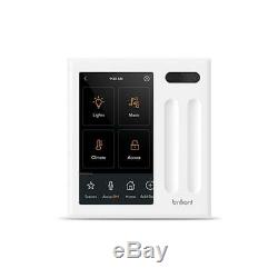 Brilliant All-in-One Smart Home Control 2-Light Switch Panel dimmer BHA120US-WH2