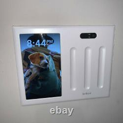 Brilliant All-in-One Smart Home Control 3-Light Switch Dimmer Panel BHA120US-WH3