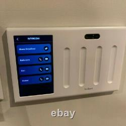 Brilliant All-in-One Smart Home Control 4-Light Switch Dimmer Panel BHA120US-WH4