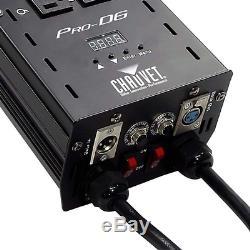 CHAUVET DJ Pro-D6 DMX-512 Dimmer/Switch Pack (6-Channel) LED Light Controllers