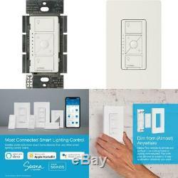 Caseta Wireless Smart Lighting Dimmer Switch For Elv+ Bulbs, White