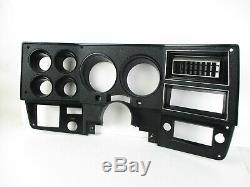 Chevy Gmc C/k Truck Suburban Blazer Dash Speedometer Cluster Bezel Trim 80-87