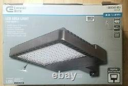 Commercial Electric LED Bronze Area Flood Security or Work Light 18000 Lumens