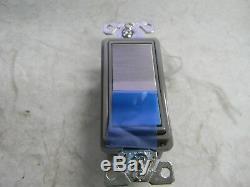 Cooper Wiring Com Grade Rocker Wall and Dimmer Light Switch QTY 10 7603CU
