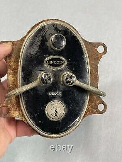 Early Antique Delco LINCOLN Switch Early Automobile Light Dimmer (G4)