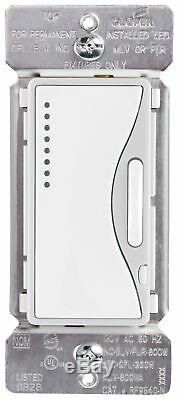 Eaton RF9540-NWS ASPIRE Single-Pole Multi-Location Master Dimmer Light Switch