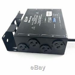 Elation Professional 2 SET DP-415 4-Channel Stage Light DMX Dimmer Switch Pack