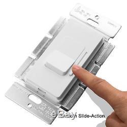 Enerlites Dimmer Light Switch Slide Rocker 120V 150W 3-Way LED / CFL