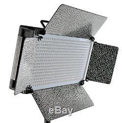 Fancierstudio 500 LED light Panel With Dimmer Switch Led Video lighting Led Lit