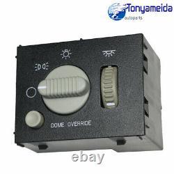 For Chevy GMC 99-02 Sierra Silverado Yukon Headlight & Dome Light Dimmer Switch