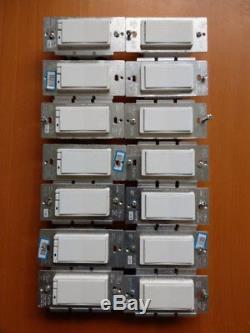 GE / JASCO ZW3003 (x7) and ZW2002 (x7) Z-Wave 3-WAY Dimmer Light Switch & AUX