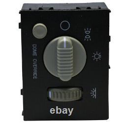 Headlight Dome Light Dimmer Switch Fits Chevy GMC Sierra Silverado Yukon 99-02