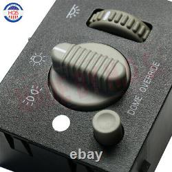 Headlight & Dome Light Dimmer Switch For 99-02 Chevy GMC Truck SUV Sierra Yukon