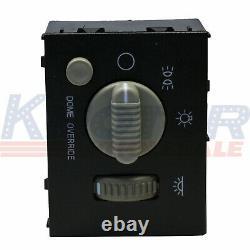 Headlight & Dome Light Dimmer Switch For GMC Sierra Chevy Silverado Yukon 99-02