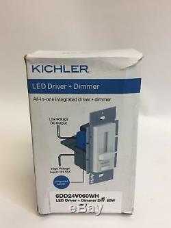 Kichler LED Driver And Dimmer Light Switch 24 Volt 60 Watt 6DD24V060