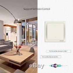 Koogeek LED Dimmer Light Switch Smart Wi-Fi Enabled 220240V Works with Apple on