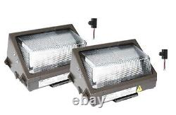 LED Wall Pack Light with Photocell Dusk to Dawn Outdoor Industrial Flood Light