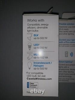 LOT OF 3 Lutron Caseta Wireless Smart Lighting ELV Dimmer Switch PD-5NE-WH
