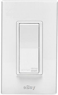 Leviton Decora Smart Rocker Programmable Switch Light Dimmer Siri LED 15 Amp 5Pk