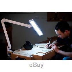 LightCraft LED Pro Task Lamp with Dimmer Switch light office 84 LED shadow free