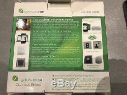 LightwaveRF Master 4 Gang 1 Way 210W Light Switch Dimmer LW440