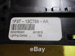 Lincoln Continental Light Control Switch Park Headlights LCM Auto Lamp Panel Dim