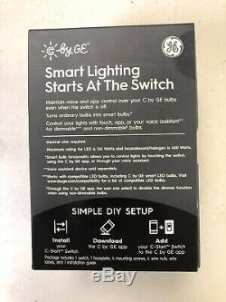 Lot Of 5 C-Start Smart Switch Dimmer by GE for all Bulbs Works With Alexa Google